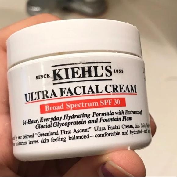 kiehls ultra facial cream spf